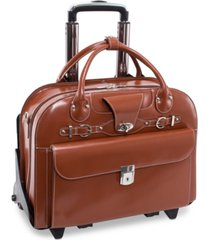 mcklein roseville detachable wheeled briefcase