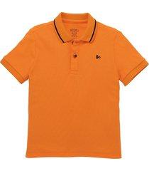 camiseta manga corta naranja  offcorss