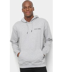moletom volcom center masculino