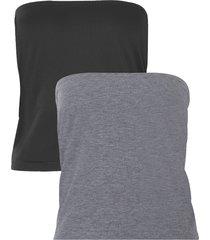 fascia termica coprente per t-shirt (pacco da 2) (grigio) - bpc bonprix collection