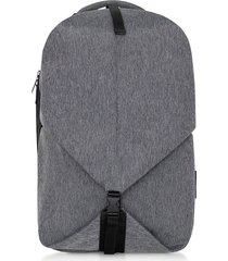côte & ciel designer men's bags, ecoyarn grey oril s backpack