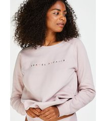 hunkemöller långärmad tröja rosa