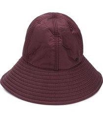 maison michel julianne quilted bucket hat - red