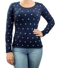 blusa feminina facinelli tricot
