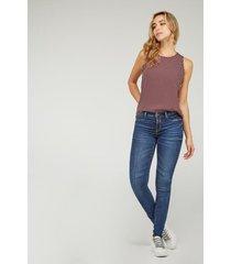 jeans jeggings koaj - azul