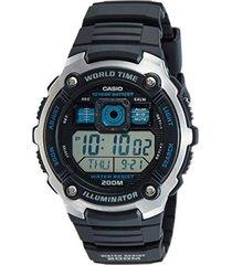 reloj ae-2000w-9a casio negro