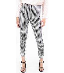 pantalon para mujer en bengalina multicolor color-multicolor-talla-6