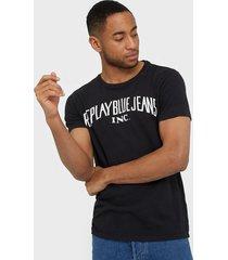 replay m3036 t-shirt t-shirts & linnen black
