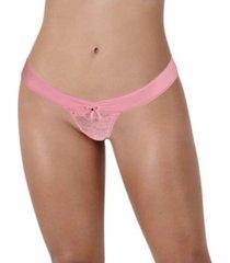 panty basilera puente algodón lateral ancho - bésame-palo de rosa