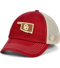 top of the world men's oklahoma sooners hidst trucker cap