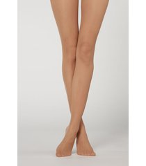 calzedonia 20 denier sheer matte tights woman nude size xl