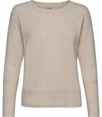 amelia knit stickad tröja beige cream