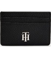 tommy hilfiger women's credit card holder black -