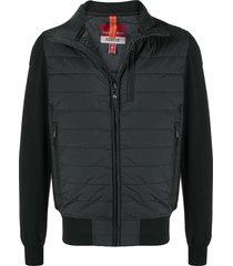 parajumpers cailie fleece puffer jacket - black