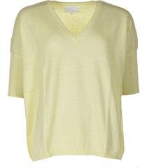 les tricots de lea trui martinetti geel