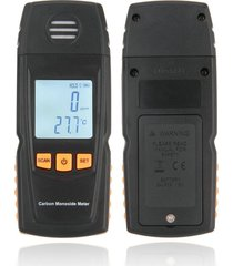 lcd digital monóxido de carbono medidor de mano medidor de detector de gas co detector