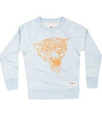 ao76 tiger print sweatshirt