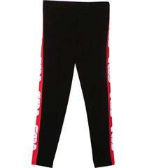 gcds mini black trousers