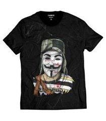 camiseta di nuevo chaves estilo v de vingança vendetta masculina