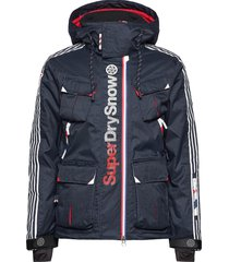 ultimate snow combat jacket outerwear sport jackets blå superdry