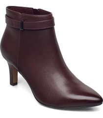 illeana calla shoes boots ankle boots ankle boot - heel röd clarks