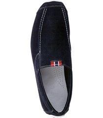 skor med resår i sidan rieker marinblå