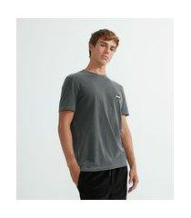 "camiseta manga curta ""true"" | blue steel | cinza | p"