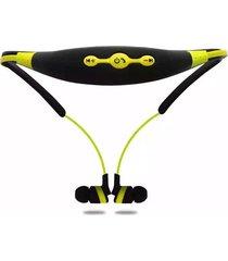 audífonos bluetooth deportivos, stn-110 nuevo neckband deportes audifonos bluetooth manos libres  auricular estéreo auricular inalámbrico (amarillo)