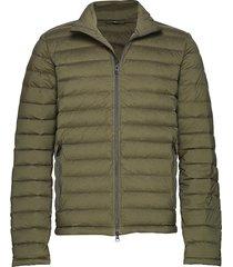 m ease sweater-jl down gevoerd jack groen j. lindeberg ski