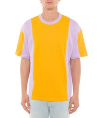acne studios contrasting panel t-shirt