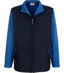 fleece vest roger kent blauw