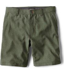 tech chambray shorts
