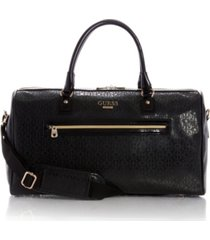 guess fashion travel barlow carry-on duffle