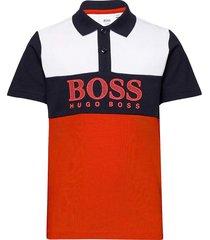 short sleeve polo t-shirts polo shirts rood boss