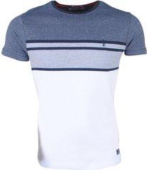 mz72 heren t-shirt fijngebreid trickle - grijs