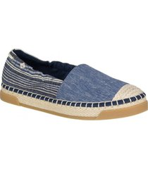alpargata laurel reef azul sperry