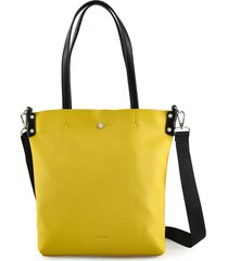 cartera amarilla amphora léger