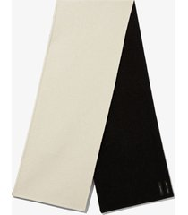proenza schouler cashmere double face scarf /black os