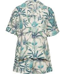 belle pyjama pyjamas blå by malina