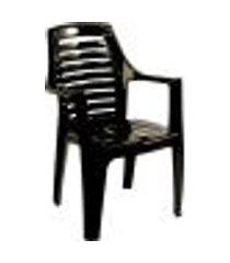 cadeira poltrona marbella preta