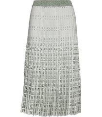 cyrilla knälång kjol vit baum und pferdgarten