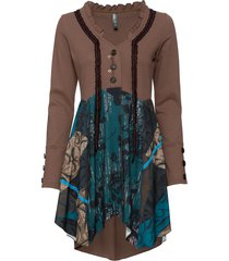 giacca di felpa (marrone) - rainbow