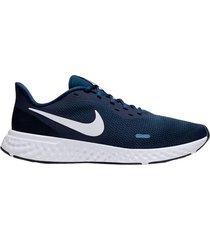 tenis nike revolution 5 para hombre - azul oscuro