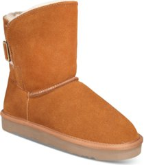 style & co teenyy cold-weather booties, created for macy's women's shoes