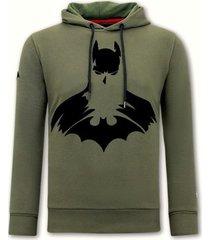 sweater local fanatic hoodie print batman