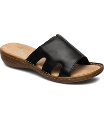 60824-00 shoes summer shoes flat sandals svart rieker