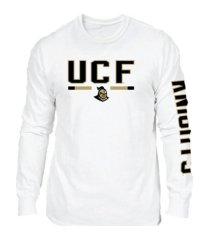 retro brand university of central florida knights men's team stripe long sleeve t-shirt