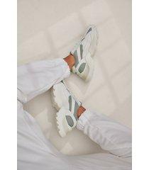 na-kd shoes träningssko med rundad sula - grey