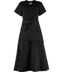 3.1 phillip lim midi dress with belt
