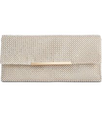 inc hether pearl mesh clutch, created for macy's